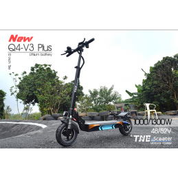 NEW TNE Q4-V3 PLUS 1000W WITH ALARM AND FLASHING REMOTE