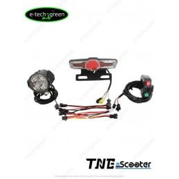 v/élo de route Kaige Feu arri/ère de v/élo LED clignotant avec t/él/écommande sans fil USB rechargeable /étanche pour v/élo de montagne